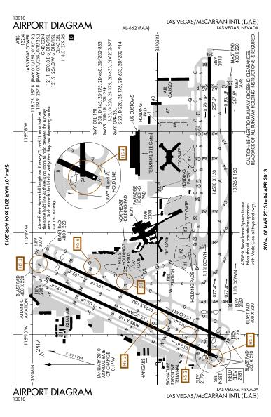Las Airport Diagram | Airport Diagrams Mc Carran Intl Airport Las Vegas Nevada